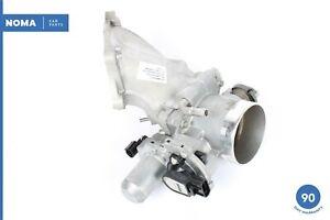 04-06 Jaguar X350 XJ8 VDP Engine Throttle Body w/ Inlet Pipe C2C33690 OEM
