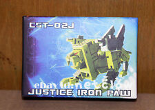 Transformers KFC CST-02J Justice Iron Paw Masterpiece Cassette Steeljaw in stock