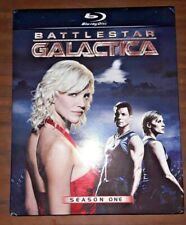Battlestar Galactica: Complete First Season 1 One (Blu-ray Disc, 2010, 4-Disc)