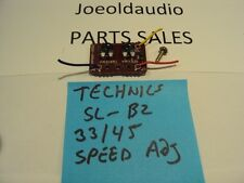 Technics SL-B2 Original 33 or 45 Fine Adjust Speed Control. Parting Out SL-B2 TT