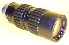 Soligor 80-200mm zoom lens in very good condition for Minolta M