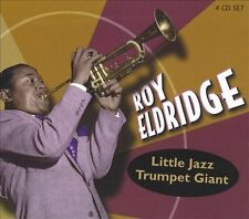 Little Jazz: Trumpet Giant by Roy Eldridge (4 Discs) CDs & PAPER SLEEVES ONLY