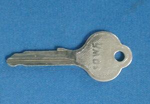Ymos KW Vintage Original Key Blank for Vintage Mercedes, Porsche