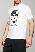 T-Shirt Uomo Nole SERGIO TACCHINI  Maglietta Novak Djokovic B141 Bianco Tg L
