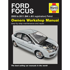 Ford Focus Haynes Manual  2005-09 1.4 1.6 1.8 2.0 Petrol Workshop Manual