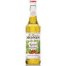 MONIN Coffee Syrup ROASTED HAZELNUT 70 CL - Perfect for Dessert Drinks too!