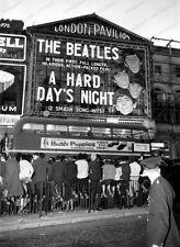 8x10 Print Beatles John Lennon London Pavillion A Hard Days Night 1964 #BEAT