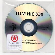 (FE742) Tom Hickox, Out Of The Warzone - 2014 DJ CD