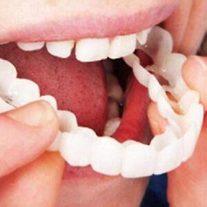 Dental Veneers Upper Lower Teeth Whitening Snap On Useful Instant Smile Comfort