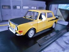 SIMCA 1000 Rallye 2 gelb yellow mit schwarz 1976 Norev NEU NEW 1:18