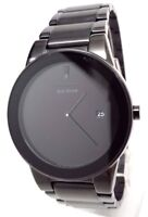 Citizen Axiom Eco Drive Black Dial Black Ion-plated Mens Watch AU1065-58E