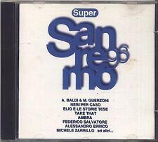 Supersanremo '96 - BALDI NERI PER CASO ELIO E LE STORIE TESE AMBRA ZARRILLO - CD