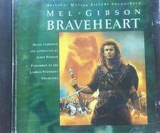 James Horner Braveheart OST Mel Gibson  CD Album VGC