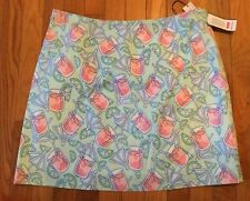 New NWT Vineyard Vines Squibby Lined Straight Knee Length Umbrella Skirt Size 10
