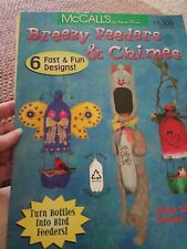 Decorative Tole Painting Pattern Book Breezy Feeders & Chimes