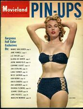 MARILYN & others • MOVIELAND PIN-UPS #1 • 1955 • Pinups (No nudes) • Complete