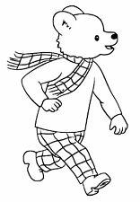 Rupert Bear Decal / Sticker