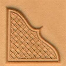 Basketweave Corner 3d Stamp 8535-00 by Tandy Leather