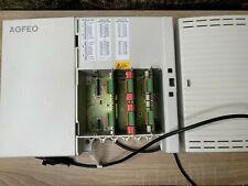 AGFEO AS 45 Telefonanlage ISDN mit 3 Modulen