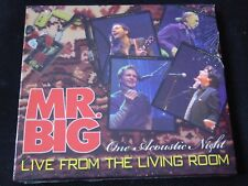 Mr. Big - Live from the Living Room CD PAUL GILBERT ERIC MARTIN BILLY SHEEHAN G3