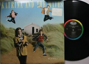 Rock Lp Katrina & The Waves waves On Capitol - Nm / Vg+ (Price Sticker on Front
