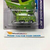 Bad Card * Volkswagen Kool Kombi #169 * GREEN * 2013 Hot Wheels * HC13