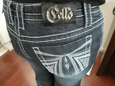 CELLO WOMENS JEANS BOOT TAG SeXy DESIGNER NWT'S