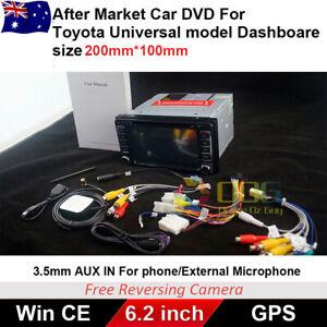 Car DVD GPS Stereo For Toyota Hiace RAV4 Landcruiser Prado Camry Hilux Kluger FJ
