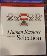 Human Resource Selection 7th Edition, Instructor's, Gatewood, Feild, Barrick