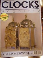 CLOCKS MAGAZINE FEBRUARY 2007 LANTERN PROTOTYPE LENZKIRCH BY NUMBERS ART DECO