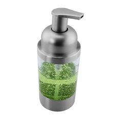 1PC Stainless Steel Countertop Foaming Foam Soap Liquid Dispenser PS Pump 8.8OZ