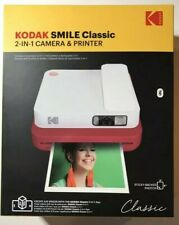 KODAK SMILE CLASSIC INSTANT PRINT DIGITAL CAMERA,  RED  NEW $149