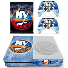 Xbox one S Slim New York Islanders NHL Vinyl Skin Stickers Decals for Console