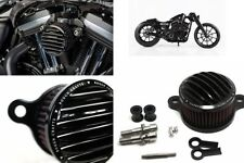 OFFERTA! FILTRO ARIA ROUGH CRAFTS BLACK HARLEY SPORTSTER 883 1200 XL 1998 - 2016