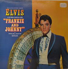 """ELVIS PRESLEY - FRANKIE AND JOHNNY 12"""" LP (O13)"""