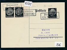 05509) DR Ostgebiete Not-Stempel Bojanowo ( Kr Rawitsch)