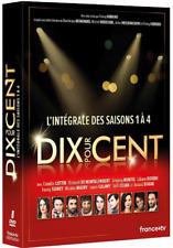 Dix pour cent, Intégrale des saisons 1 à 4 ,8 DVD