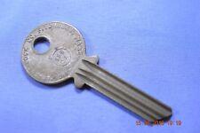 Vintage Ilco Nickel Silver 999CA keyblank for various Yale locks equiv EN11C4L