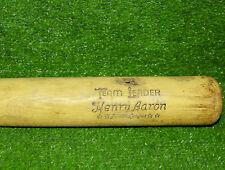 "Vintage Henry Hank Aaron Hillerich & Bradsby Baseball Bat Youth 28"" 77J"