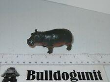 Hippopotamus Plastic Hippo Figure Toy Animal PVC Figurine 2011