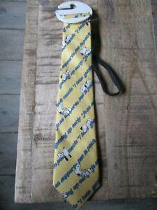 Snoopy dort-Ancienne cravate élastique pour enfant-Fait main-Edition limitée
