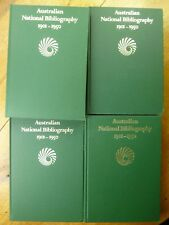Australian National Bibliography, 1901-50 by National Library of Australia