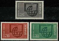 FRANCE  1966   Timbres de Service YT: n° 36 à 38 neufs ★★  luxe / MNH