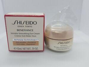 Shiseido Benefiance Wrinkle Smoothing Eye Cream 15ml/0.51oz Brand New