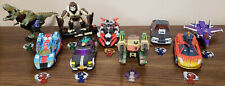 Transformers Cybertron Deluxe Class Autobots & Decepticons Lot of 9! Complete!!!