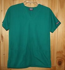 Cherokee   SCRUB TOP   sizs XXS   Solid Green ( HUNW ) Color   Pockets   LOT6564