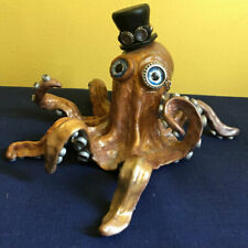 Steam Punk Octopus Polymer by Artist Marilyn Morrison Retired Design