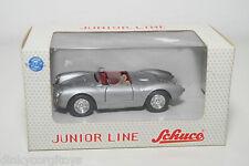 SCHUCO JUNIOR LINE 27002 PORSCHE 550 SPYDER GREY MINT BOXED
