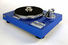 Restored Yamaha yp-dt Turntable High-gloss Paint SURFBLUE Metallic