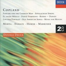 Copland: Fanfare../El Salon../Rodeo/Appalachian../Lincoln, others - 2 CD set